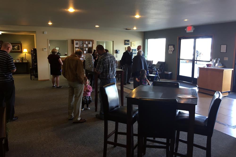 GracePoint Lobby After Sunday Service