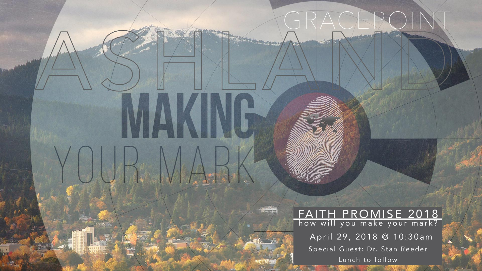 2018 Faith Promise Making Your Mark