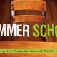 Summer School Sermon Series Title Slide Widescreen